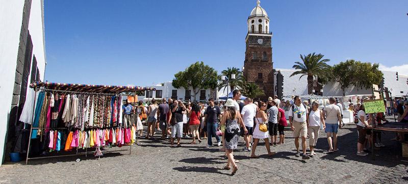 Mercadillo Teguise Lanzarote